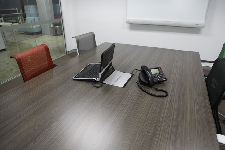 Desk box power solutions was used in this boardroom.