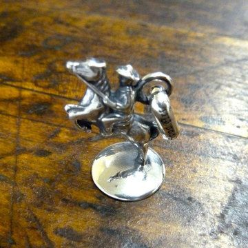 Cavalry Charm Sterling  by GOOD ART HLYWD