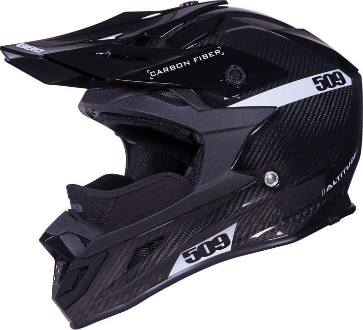 Altitude Carbon Fiber Helmet Black Gloss