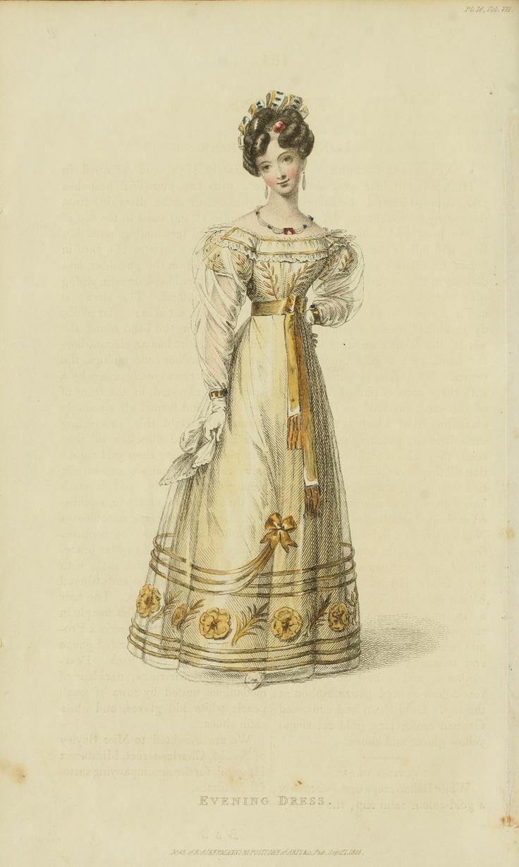 1826 - Ackermann's Repository Series 3 Vol 8 - September Issue