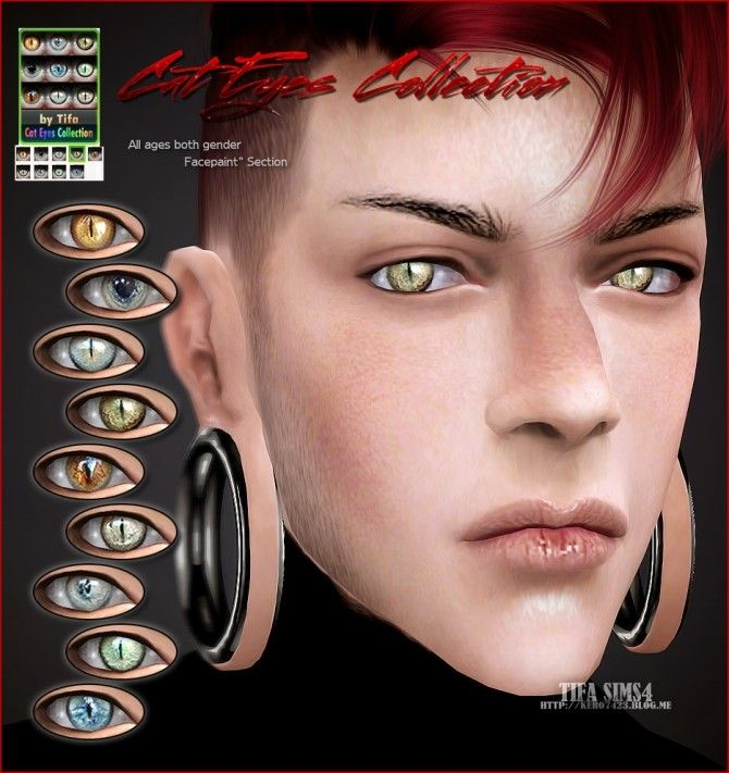 Cat eyes colection at Tifa Sims | sims 4 cc | Pinterest ... | 670 x 711 jpeg 75kB