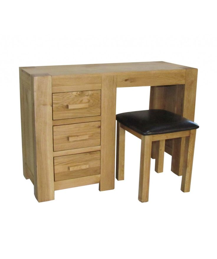 Coast 2 Coast chunky oak #dressingtable and stool is extremely stunning and perfect match for any modern #home. It will surely complement your #room with its simple and eye catching looks.