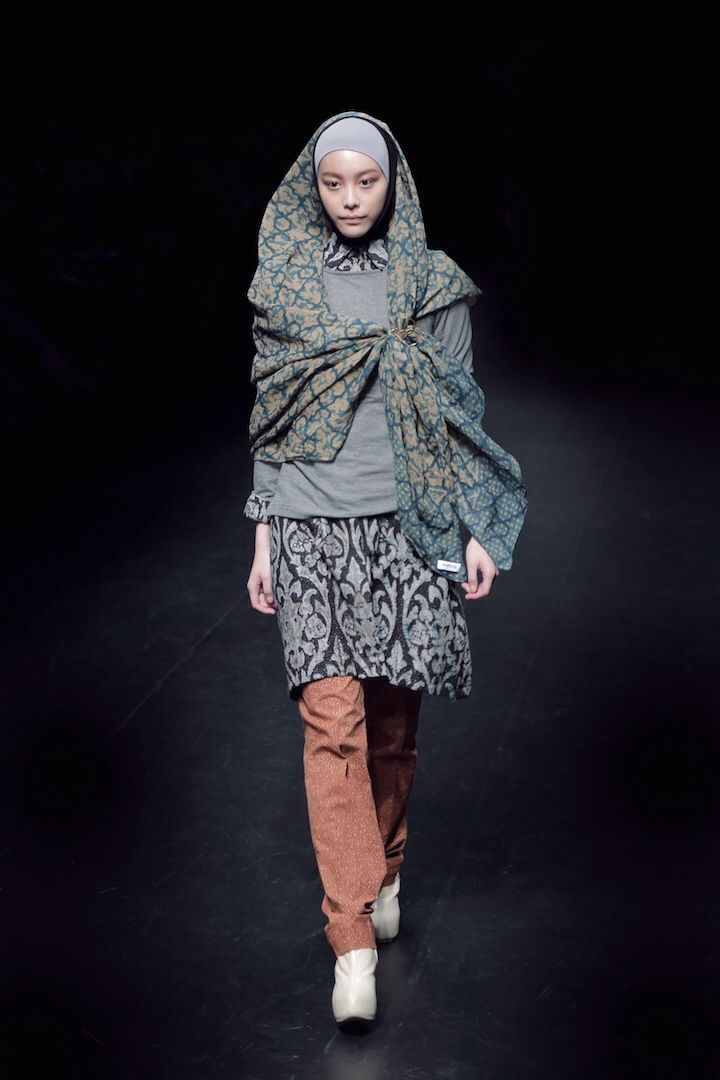 NurZahra at Mercedes Benz Fashion Week Tokyo - more info email to info@nurzahra.com