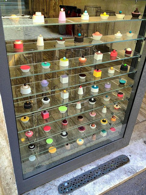 Pastry Shop Window - Rome. Do for the kitchen window!