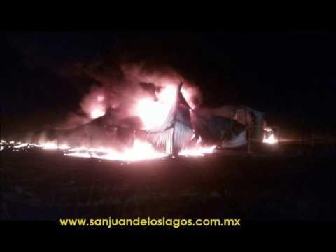 Se Incendia Bodega con Más de 60,000 Litros de Gasolina | Ágora, el Periódico de San Juan de los Lagos Jalisco