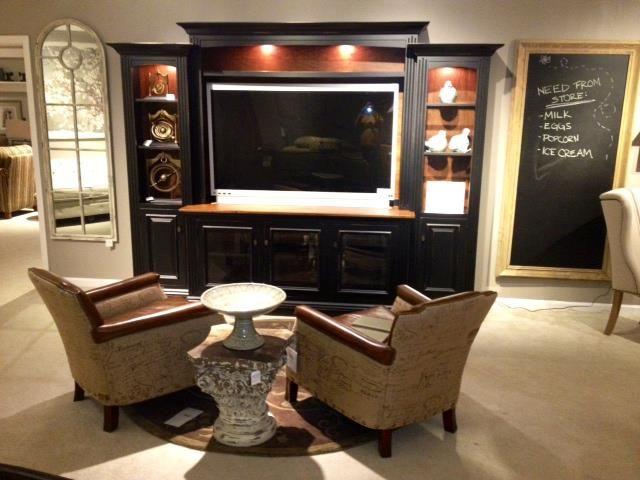 Ohio based Amish Entertainment Center furniture style