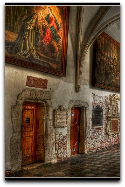 Dominican cloister , Krakow, Poland Klasztor Dominikanów w Krakowie