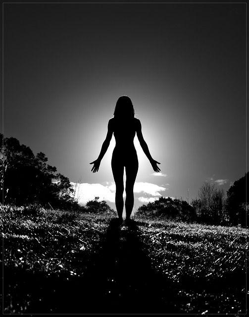 Black and white yoga silhouette #yoga #silhouette #yogaphotography
