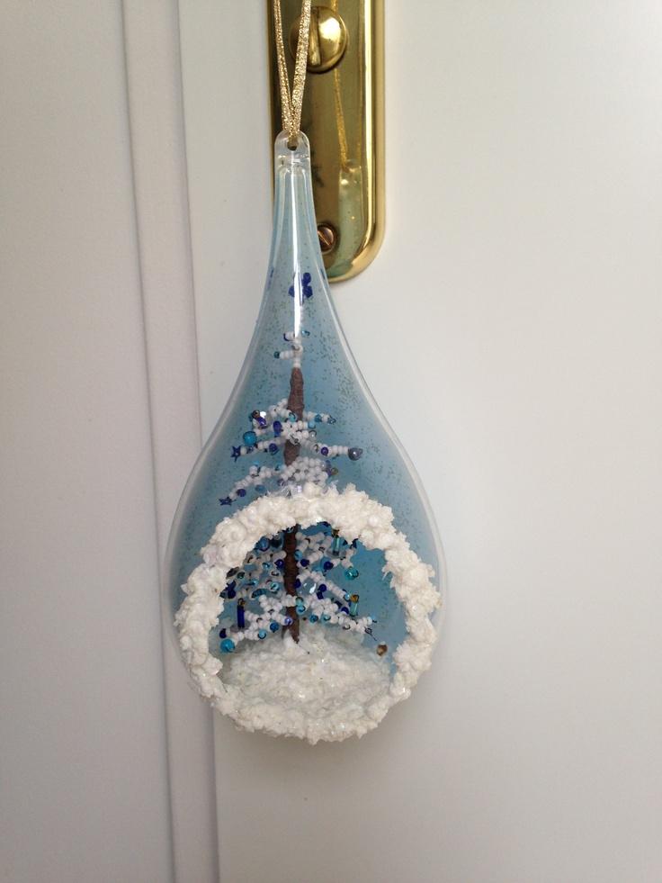 Sapin de Noël en perles de rocaille: Pearls, Fir, Christmas, Beads, Christmas In