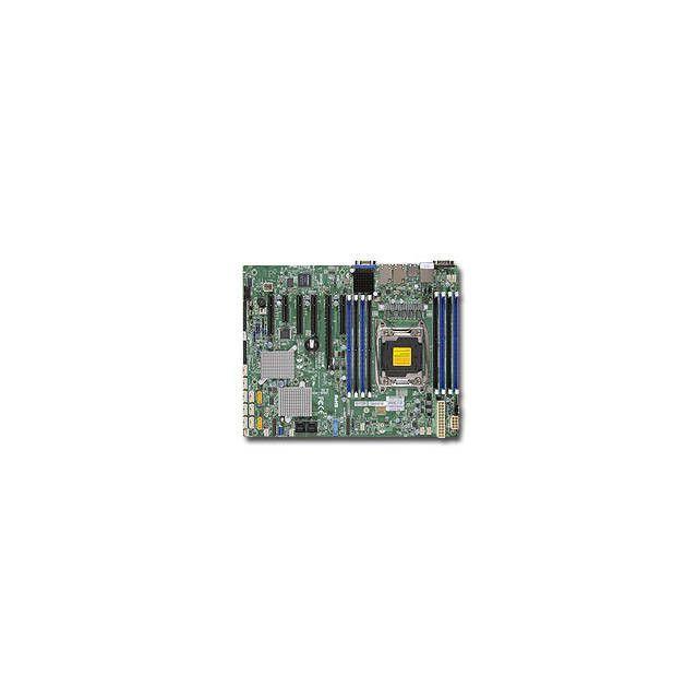 Supermicro MBD-X10SRH-CF-B LGA2011/ Intel C612/ DDR4/ SATA3&SAS3&USB3.0/ V&2GbE/