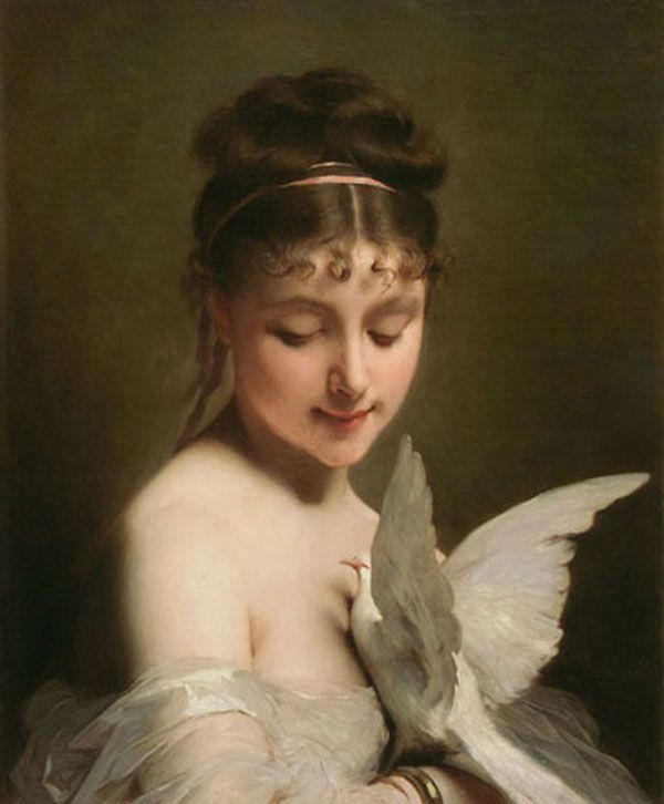 Classic Paintings of Women | Classical Paintings by Charles Joshua Chaplin (1825-1891) – I.D. 61