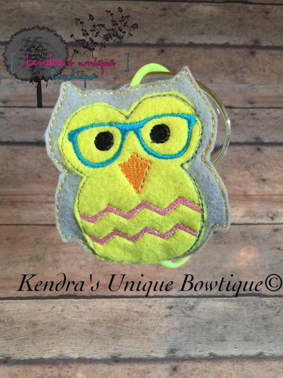 Geek owl slider geek owl headband owl with glasses chevron
