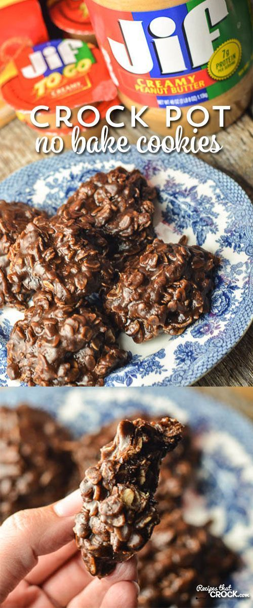 Crock Pot No Bake Cookies