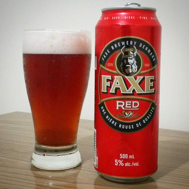 faxe beer red