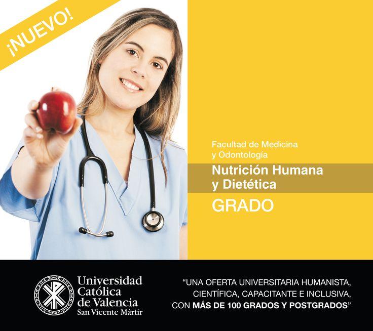 #Grado en #Nutrición #Humana y #Dietética de la #UCV #CompromisoUCV #TuGradoUCV