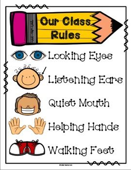 Here is a treat for your classrooms!Classroom Rules!Looking EyesListening EarsQuiet MouthHelping HandsWalking FeetEnjoy!