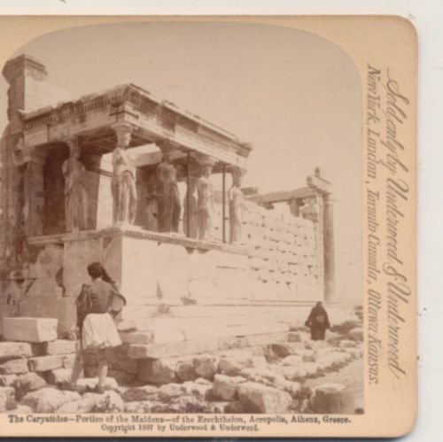 the-Caryatides-Portico-of-Maidens-Erchtheion-Athens-Greece-Stereoview-1897  the-Caryatides-Portico-of-Maidens-Erchtheion-Athens-Greece-Stereoview-1897 Have one to sell? Sell it yourself the Caryatides Portico of Maidens Erchtheion Athens Greece Stereoview 1897