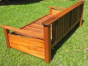 Custom Slab Daybed Illusive Wood Designs