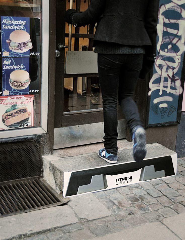Image result for ambient advertising skatepark