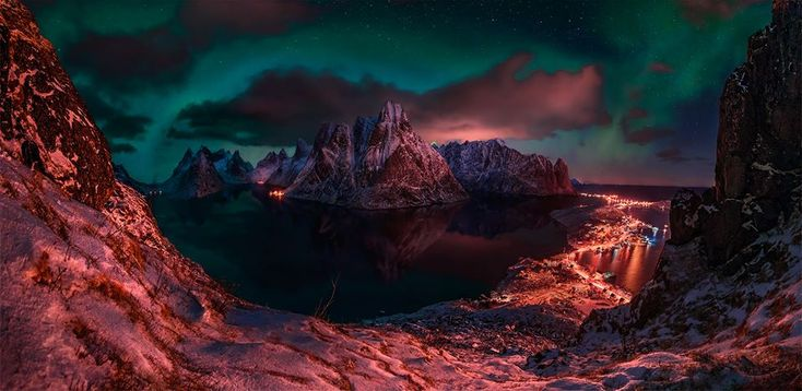 Reine, Norway. The Stunning Photography Of Max Rive Will Leave You Absolutely Mystified • Page 3 of 6 • BoredBug