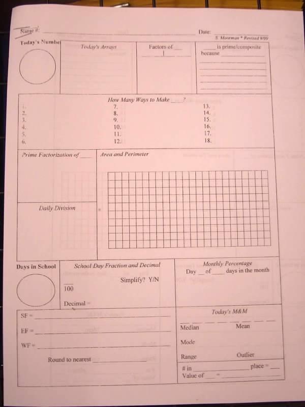 Calendar Math Printables Th Grade : Calendar math worksheets th grade