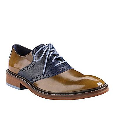 Cole Haan Colton Winter Saddle Oxfords #Dillards