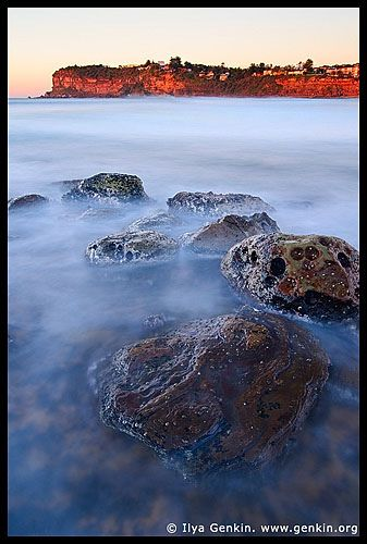 Dawn at North Avalon, Avalon Beach, Sydney, NSW, Australia