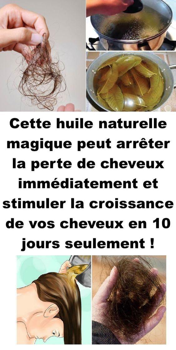 Cette huile naturelle magique peut arrêter la perte de cheveux immédiatement et stimuler la croissance de vos cheveux en 10 jours seulement !
