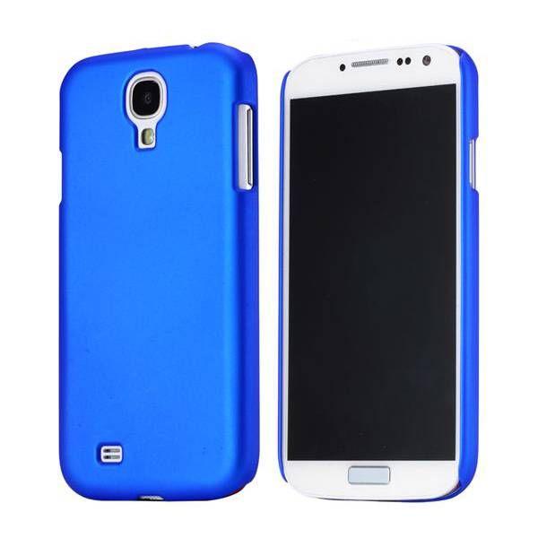 Blauw effen hardcase hoesje Samsung Galaxy S4