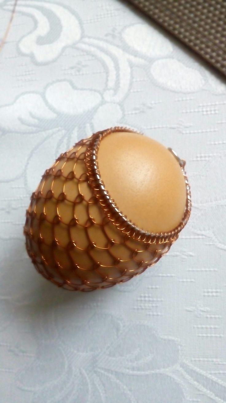 Vajíčko měď