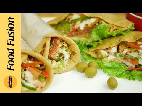 Chicken Shawarma Home Made Chicken Shawarma Recipe By Food Fusion