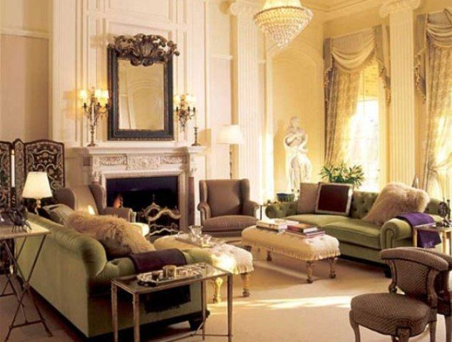 Romantic Living Room Style Victorian Living Room With Romantic Style .