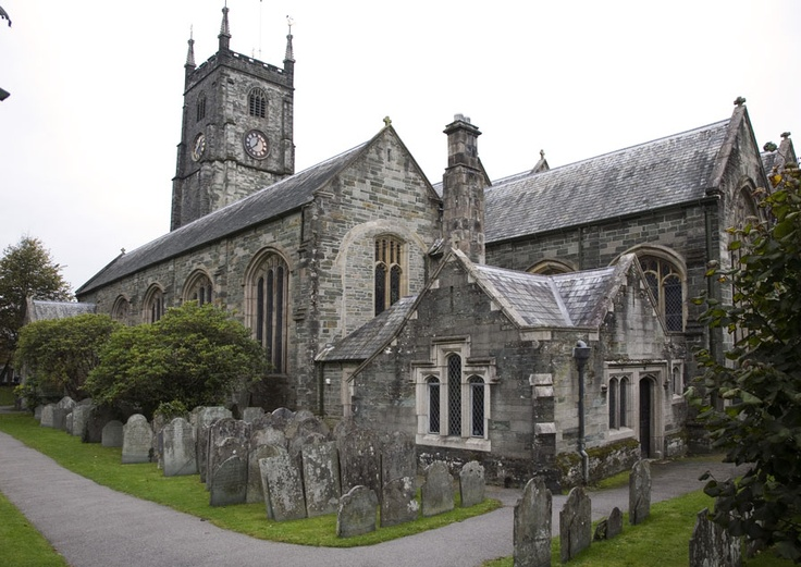 Tavistock Parish Church - many of my family and friends were married and christened here x