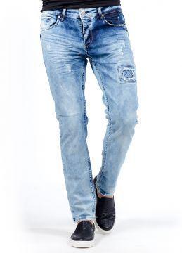 Açık Mavi SlimFit Yeni Sezon Tarz Erkek Kot Pantolon