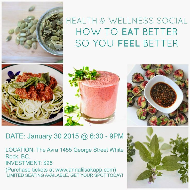 Health and Wellness Social Event in White Rock