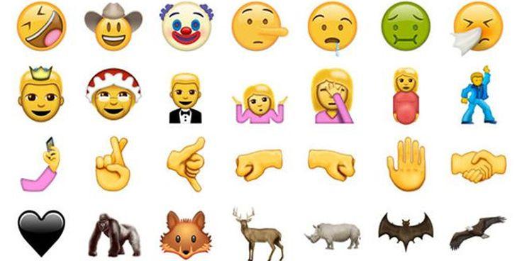 Anunciados nuevos emojis para WhatsApp y Facebook Messenger | Tendencias | LA TERCERA