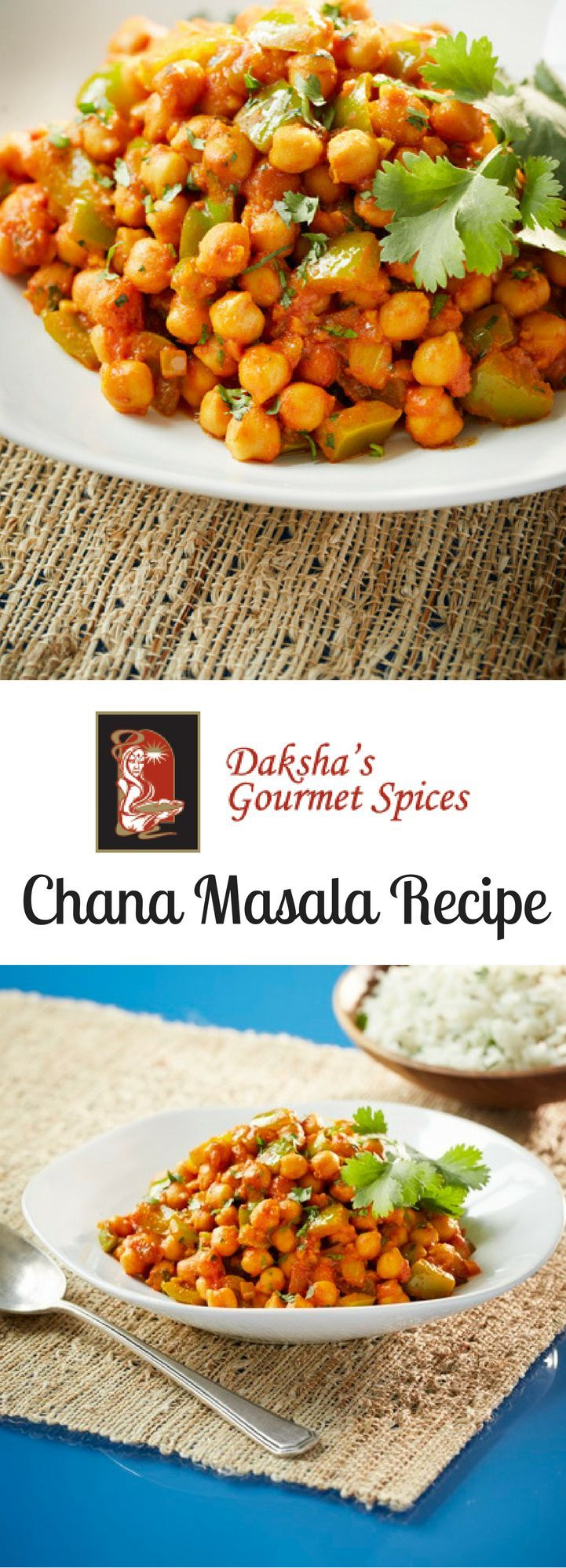 Daksha's Chana Masala Recipe! This delicious chick pea #curry with green peppers, onions and tomatoes is sure to satisfy your taste buds. Visit the link to see the #recipe, and video tutorial as seen on Global BC News!