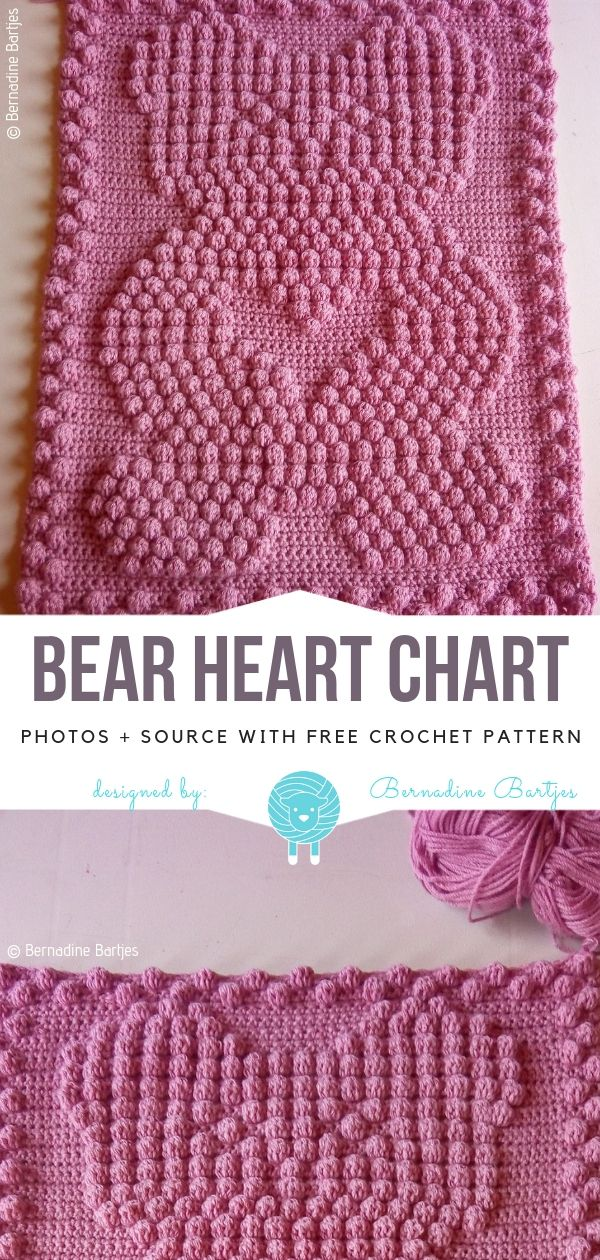 Crochet Bobbles Ideas Free Patterns | Crochet Blankets and