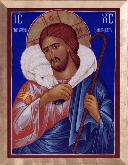 Icon - Christ the Good Shepherd