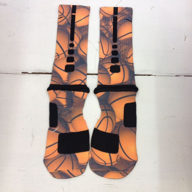 "Custom Nike Elite Socks ""Basketball"" from Sock Insanity on Storenvy"