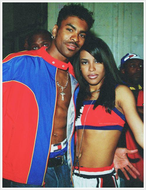 Aaliyah & Ginuwine. Happy 34th birthday Aaliyah