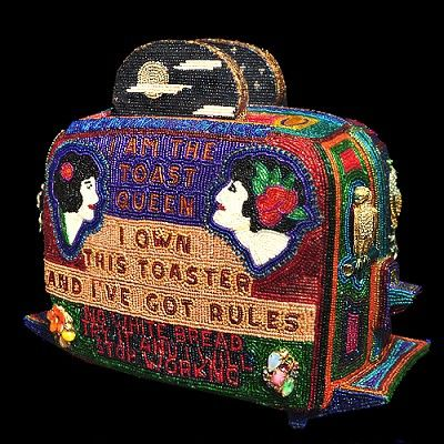 Toast Queen Toaster by Tom Wegman
