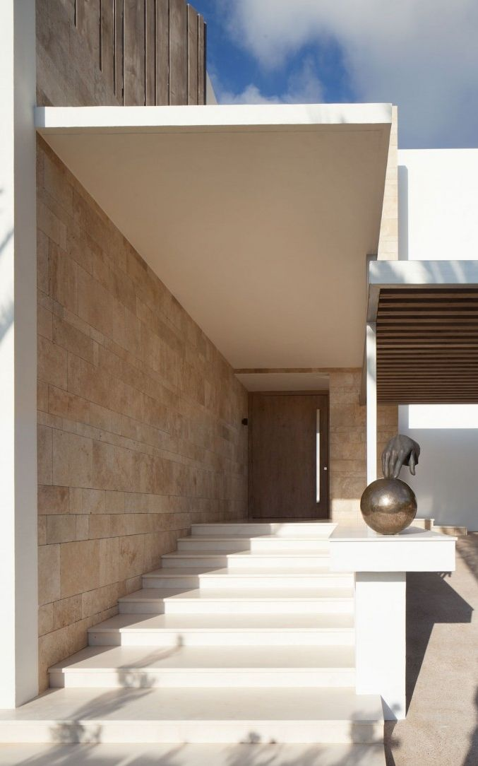 "Architecture Beast: Modern Villa ""Roca Llisa"" Located In Breathtaking Ibiza"