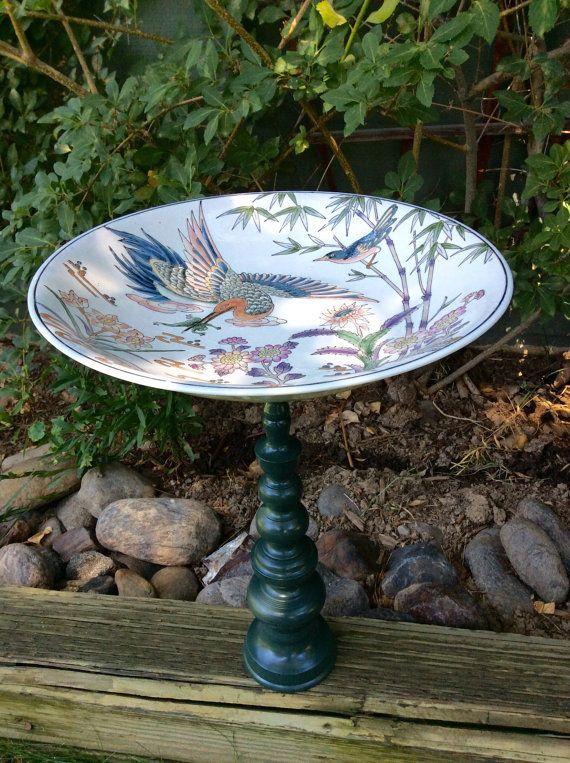 Asian garden pottery