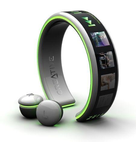 Bracelet MP3 Player Concept