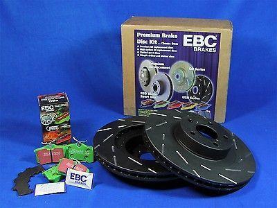 EBC Brakes S2KF1252 Stage 2 Sport Brake Kit 07-12 CX-9 Incl. Rotors and Pads