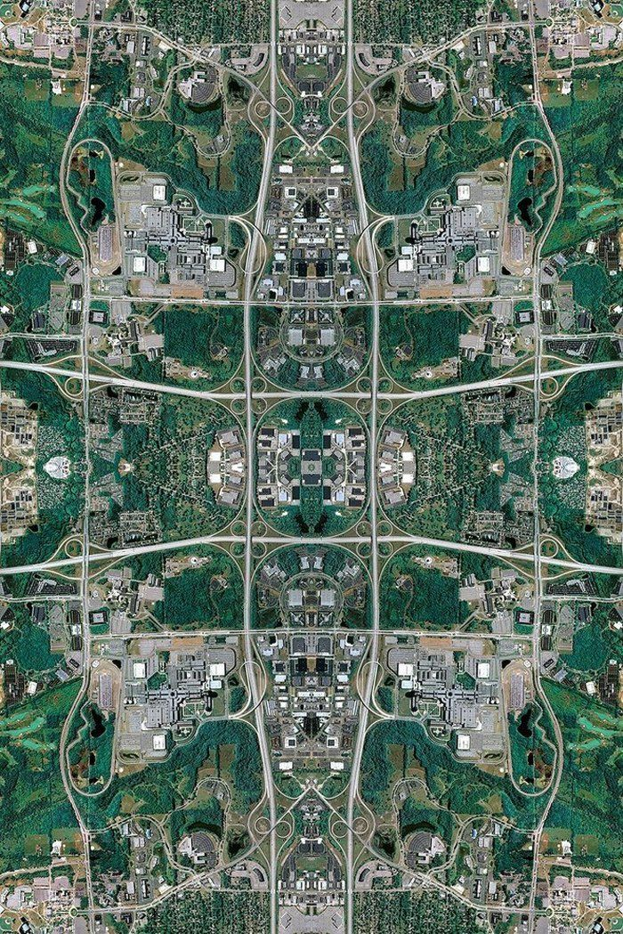 San Francisco Neighborhood Map Google%0A Google Maps as Persian Carpets