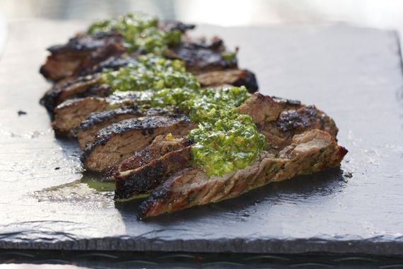 Grilled steak with chimichurri sauce | Recipe | Skirt Steak, Steaks ...