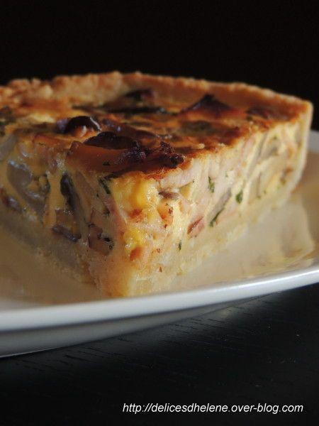 Quand j'ai vu la recette de Manue, j'ai tout de suite flashé! La tarte aux champignons, j'en connais un rayon. A la maison, s'il y a bien un légume que ma choupette adore, c'est bien celui-ci. Alors des tartes, et autres quiches aux champignons, j'en...