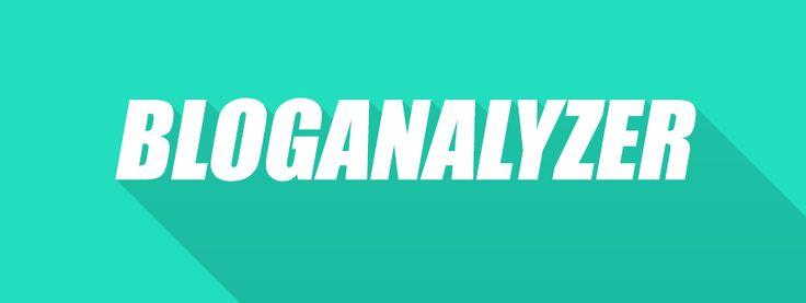 Bloganalyzer | Tips and Tricks for Blogger at http://www.bloganalyzer.blogspot.com